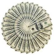 Penger på konto